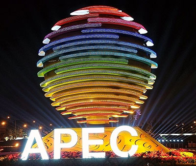APEC sign project —using LED backlighting module